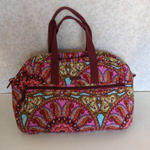 Vera Bradley Medium Travel Bag - Resort Medallion